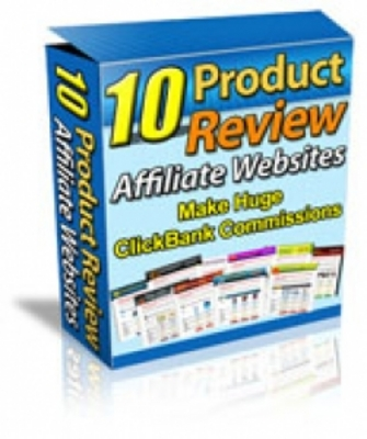 Product picture ***10 Product Review Affiliate Websites (MRR)***