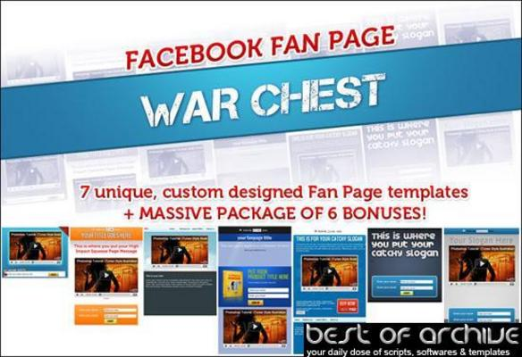Product picture Facebook Fanpage Warchest (PLR)