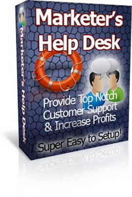 Product picture ***Marketer Help Desk Script With (PLR) ***