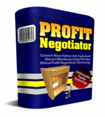 Product picture ***Profit Negotiator  ScriptNegotiator With (PLR)***