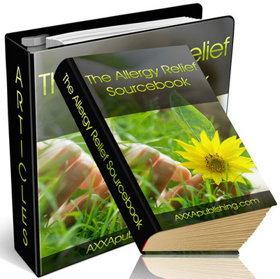 Product picture ****The Allergy Relief Sourcebook with (PLR)***